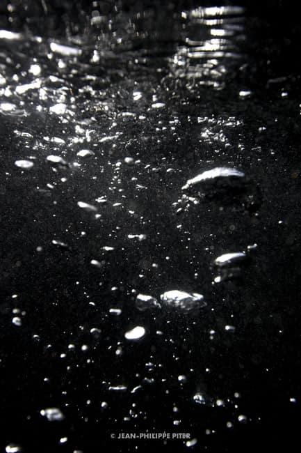 Black Pool Series, Bubbles St. Barts, 2006