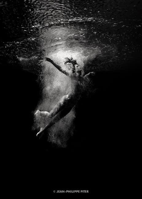 Black Pool Series, Priscilla Dive St. Barts, 2013