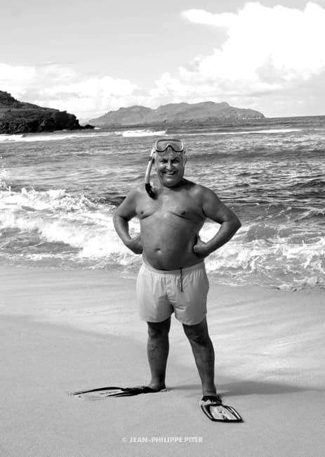 Tony Shafrazi, St-Barth, 2007