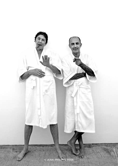 Jean-Paul Nemegyei & John Mojdehi, St-Barth, 2007
