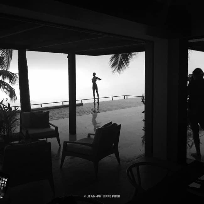 Shooting Shennai Saunders, 2017 Photo by Wolfgang Ludes